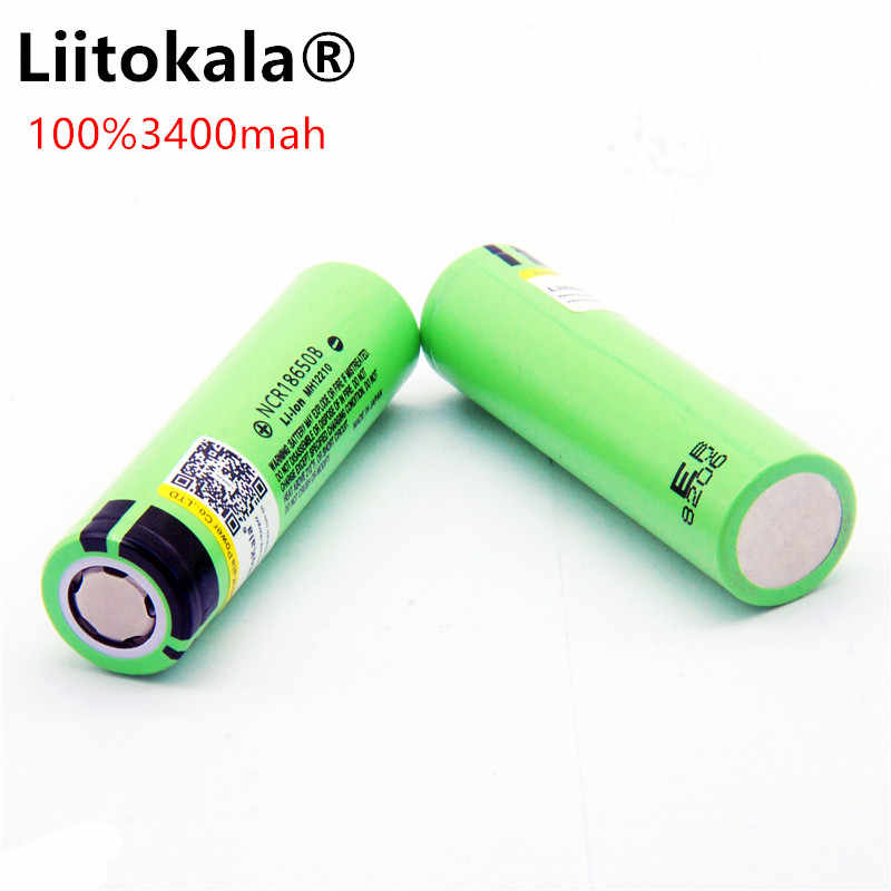 Liitokala 18650 3400mAh New Original NCR18650 3400 Rechargeable Li-ion Battery / Power Bank / Flashlight