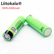 Liitokala 18650 3400mAh New Original NCR18650 3400 Rechargeable Li ion Battery / Power Bank / Flashlight