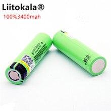 Liitokala 18650 3400mAh nouvelle batterie Li ion Rechargeable originale NCR18650 3400/batterie externe/lampe de poche