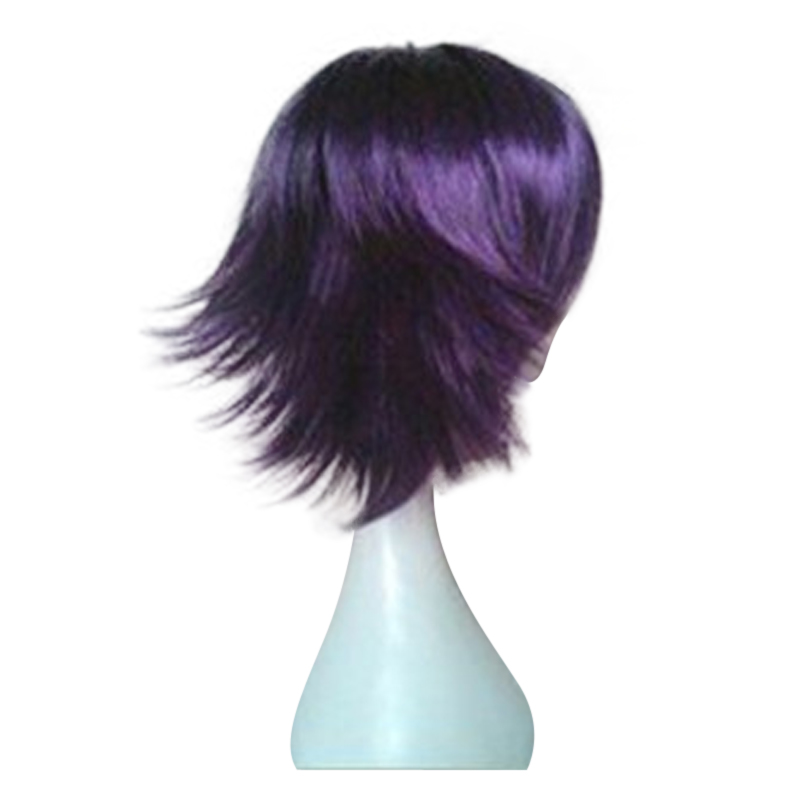 HAIRJOY Synthetic Hair Wigs Short Straight Cosplay Wig  13 Colors Available Freeshipping 37