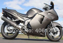 Hot Sales,CBR 1100XX ABS Fairing For Honda CBR1100XX Blackbird 1996-2007 Full Dark Gray Motorcycle Fairings (Injection molding)