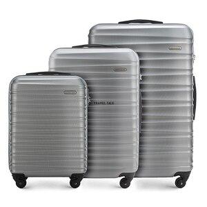 """Image 2 - TRAVEL TALE Juego de equipaje de viaje con ruedas, ABS, 20 """", 24"""" y 28"""""""