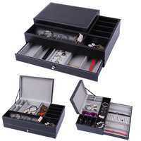 2019 Luxury Handmade Wood Jewellery Organizer Jewellery Box for Jewelry Display