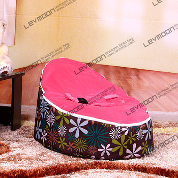 FREE SHIPPING baby seat with 2pcs dark red up cover baby beanbag cover lazy chair bean bags sofa child fabric sofa chair baby bean bag seat with 2pcs black up cover baby bean bag chair white rabbit bean bags sofa bean bag free shipping