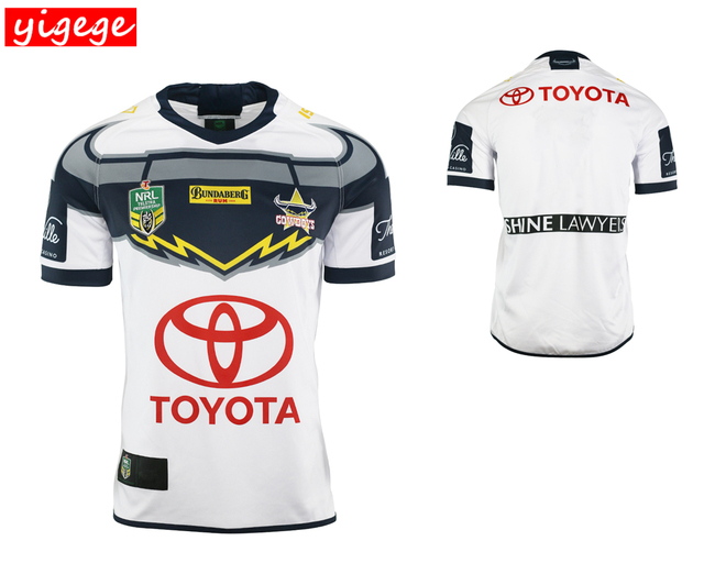 info for 01ace 074eb US $16.79 27% OFF|nrl Jersey 2018 Cowboys rugby Jerseys home away Jersey  NRL National Rugby League Australia shirt s 3xl-in Rugby Jerseys from  Sports ...