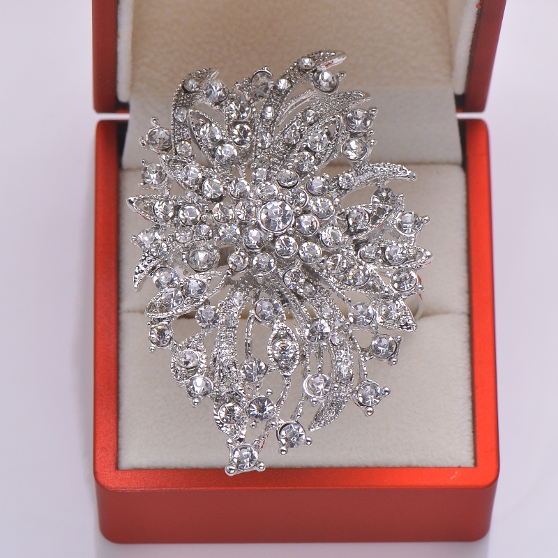 (L0340-ring) Free Shipping 50pcs/lot Rhinestone Napkin Rings For Wedding Table Decoration,nickle Or Rose Gold Plating