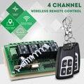 LEORY Control remoto inalámbrico Universal 12 V 4CH canal 433 Mhz interruptor circuito integrado 2 transmisor DIY reemplazar pieza herramienta