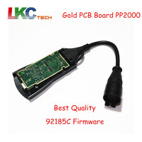 DHL Free TOP Quality PP2000 Original Full Chip Diagbox 7 76 Lexia3 With 921815C Firmware OBD2