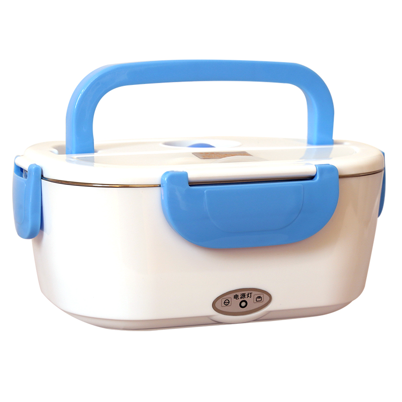 Food Warmer Stainless Steel Liner Pluggable Automatic Insulation Box Work Mini Lunch Box Hot Rice Cooker Portable For 1-2 Person 220v 600w 1 2l portable multi cooker mini electric hot pot stainless steel inner electric cooker with steam lattice for students