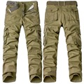 2017 Men's Military Style Army Camouflage Pants Fashion Military Camouflage Tactical Pants Military Clothing Cargo Pants Plus 40