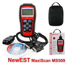 Best Brand Autel MaxiScan Car Code Reader Autel MS509 OBDII OBD auto OBD2 Scanner Maxiscan MS 509 Automotive Diagnostic Tool