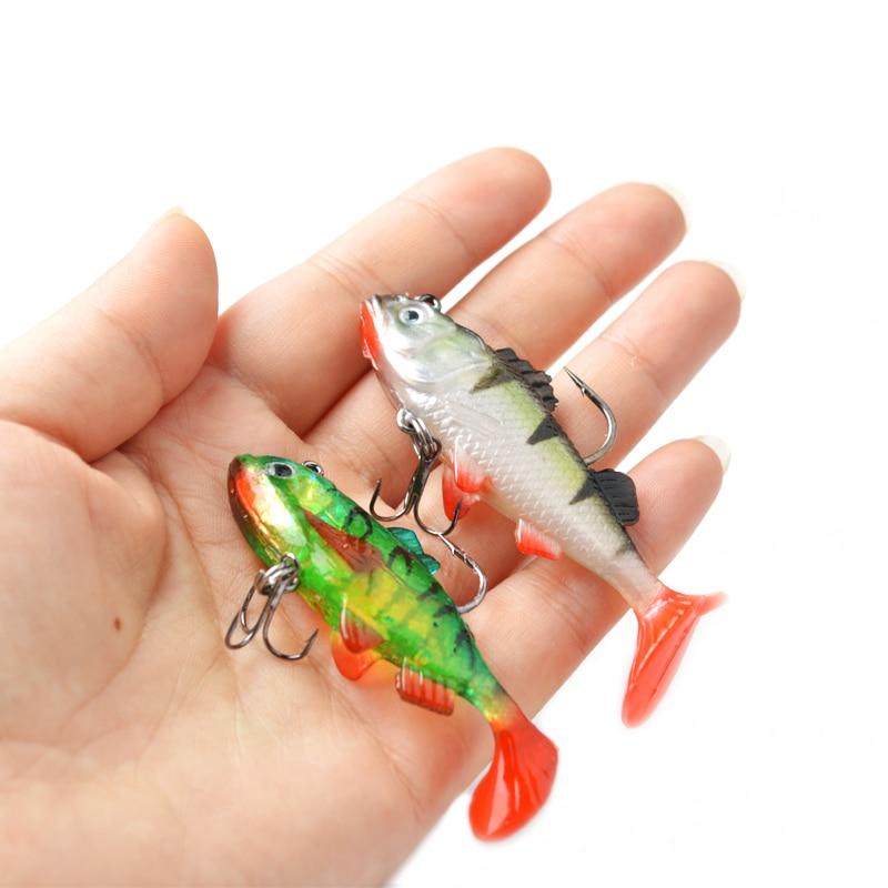 7,1 1 Stück T Schwanz Fisch Locken Soft Fischköder Fischköder 18 cm