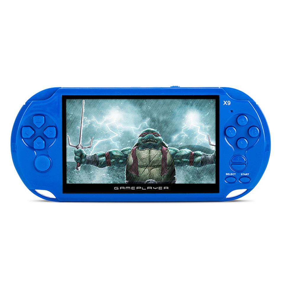 Portable handheld game console video mp4 player 8gb free download.