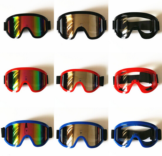 Free Shipping Motorcycle Off-road Motorcross Goggles Ski Equipment Wind Proof Lens Windproof Goggles