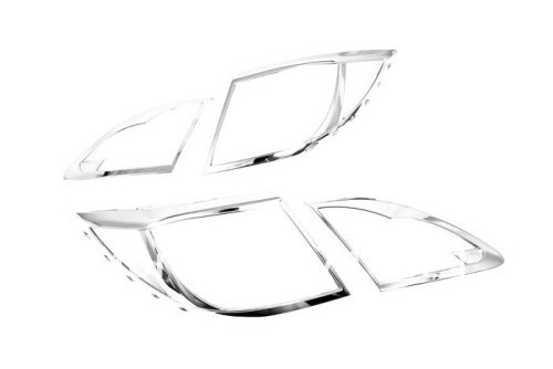 Car Styling Chrome Tail Light Cover For Mazda 6 / Atenza