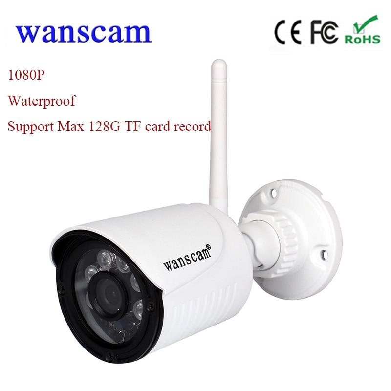 Nouveau Wanscam HW0022 1080 P wifi IP caméra sans fil cctv Caméra extérieure wifi de sécurité caméra 2MP étanche soutien 128G TF carte