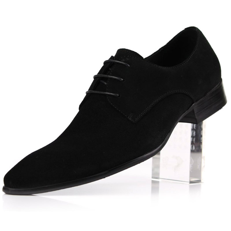 new suede real leather business mens dress shoes formal