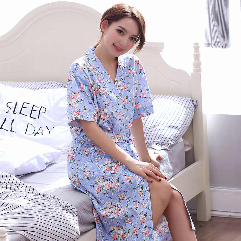 c0f8543c740 ... New Ladies  Robe Shorts Bathrobe Thin Summer Home Clothing Women  Sleepwear Leisure Lounge Wear Lingerie ...
