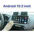 Android  Quad core 10.2 inch 1024*600 CAR DVD GPS FOR TOYOTA PRADO 150 2014 2015 radio build in WIFI  Mirror Link with canbus