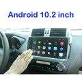 Android Quad core de 10.2 pulgadas 1024*600 GPS DEL DVD DEL COCHE PARA TOYOTA PRADO 150 2014 2015 radio construir en WIFI Enlace Espejo con canbus