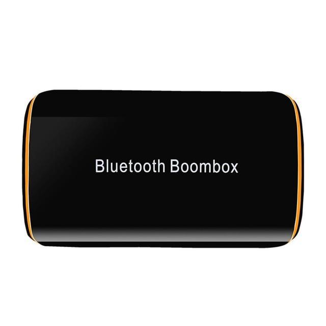 Venda quente BT4.1 Boombox HiFi Áudio Do Carro Fone de Ouvido Bluetooth Estéreo Sem Fio Adaptadores de Alta Qualidade Aug.10
