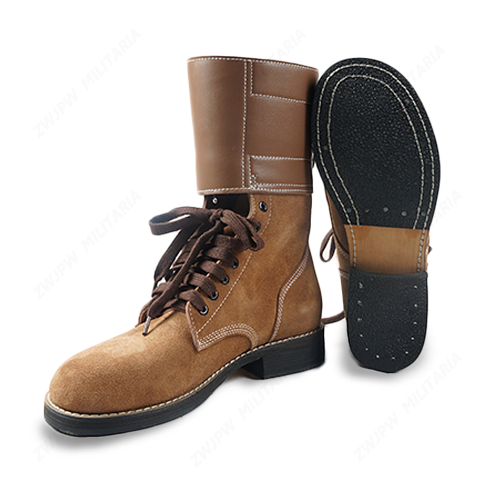 WW2 US ARMY  M1943 BOOTS LEATHER BOOT HIGH GANG OUTDOORS  BOOT HIGH QUALITY