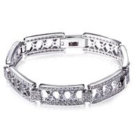 Unique Design Bohemian Braclets For Women White Color AAA Cubic zirconia Luxury wristband Dancing Party Fashion Jewelry
