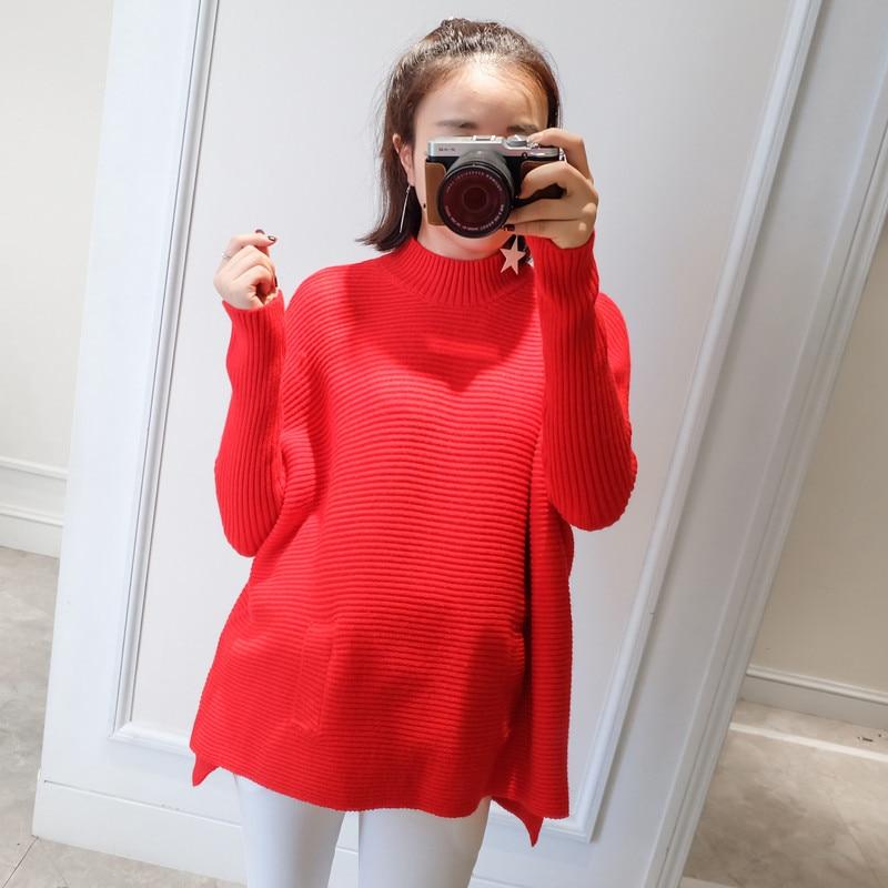 ФОТО Autumn Korean-clothes 2016 New Fashion Maternity Wear Maternity Shirt Dress Pregnant Women Dresses 8A306