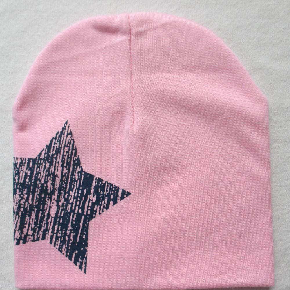 bd7478287 Print Star Baby Beanie For Boys Girls Cotton Knit Hat Children Winter Hats  Baby Knitted Warm Cotton Beanie Hat For Toddler Kids