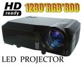 ГОРЯЧАЯ! 5500 Люмен проектор full hd 3d led проекторы 1080 P жк мультимедиа proyector projektor бимер HDMI USB для домашнего кинотеатра