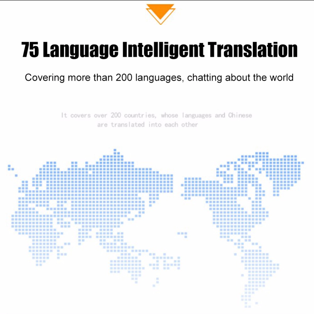 Multi Language Portable Smart Voice Language Translator Supports 107 Languages with Quad Core High Speed CPU 23