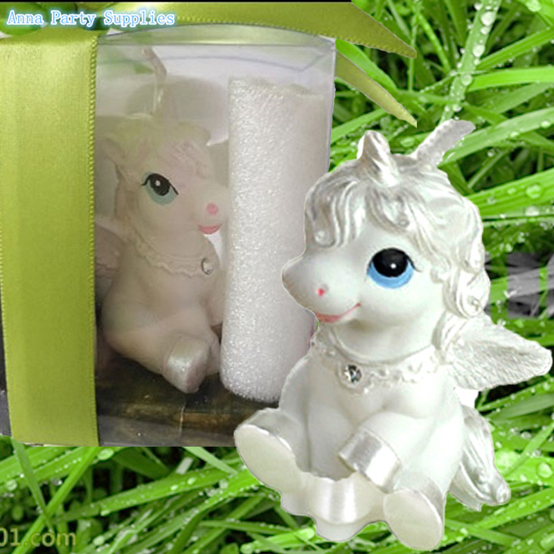 Hot Selling! unicornio Party Supplies Birthday Candle Bestie Horse White Horse unicorn candle unicorn birthday party supplies