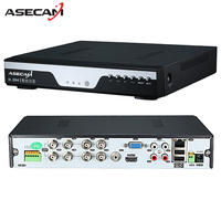 Factory 8CH 16CH AHD DVR 1080N 12fps CCTV Video Recorder Camera Network Onvif Channel IP NVR