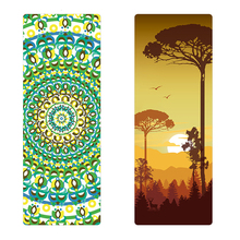 Environmental 6 color to choose Natural Rubber Yoga Mat eco-friendly slip-resistant Hot yoga mat for yoga Fitness mat