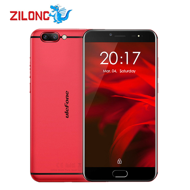 Ulefone Gemini Pro Android 7.1 Deca Core Mobile Phone 5.5 Inch 1920*1080 FHD MT6797 4GB RAM 64GB ROM 13MP Touch ID 4G Smartphone