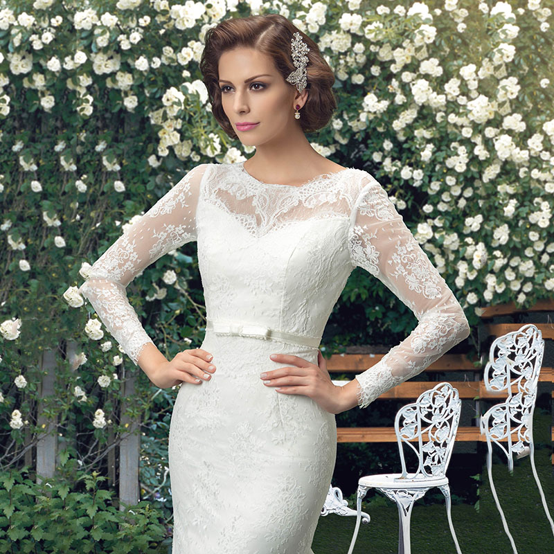 Atractivo Vestido De Novia Macy Colección - Ideas de Vestidos de ...