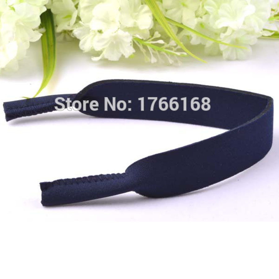 daa1cdaaeba Wholesale 50pcs Navy Kids Neoprene Sunglasses Glasses Outdoor Sports Strap  Head Band Floater Cord Eyeglass Stretchy holder-in Accessories from Apparel  ...