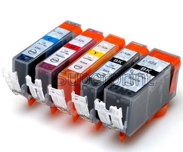 1set PGI 425 CLI 426 ink cartridge For canon PIXMA IP4840 IP4940 IX6540 MG5140 MG5240 MG5340 MX714 MX884 MX894 prnter full ink 1set compatible ink cartridge pgi35 cli36 pgi 35 cli 36 for canon pixma ip100 ip100with battery mini263 320 page 2