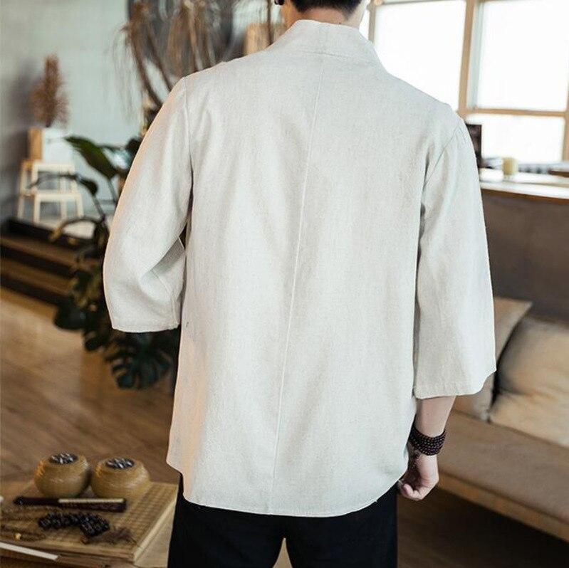 Loose Summer Men Casual Shirt 4