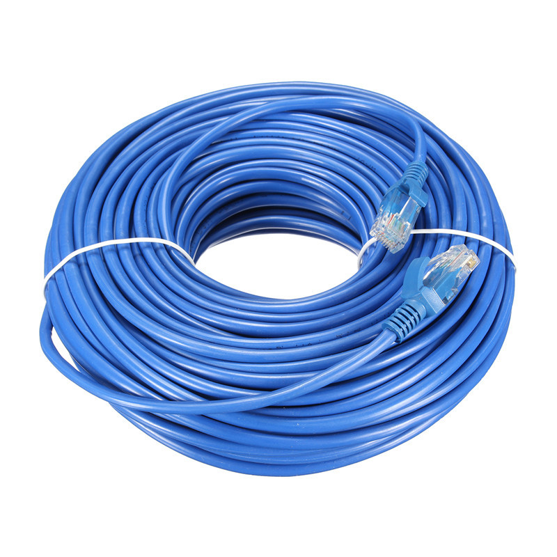24m UTP Internet Ethernet Cable Cat 5 RJ45 Network LAN Cable Male to Male Patch Connector Cord Tools For PC Computer Laptop