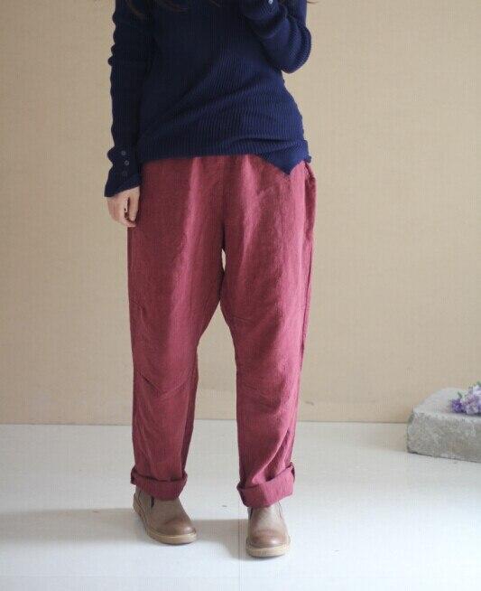 2015 spring product launches, original design 100% cotton linen loose womens big yards sand wash leisure haroun pants