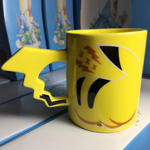 New Arrival Creative Pikachu Travel Coffee Mug Ceramic Tea Water Bottle Cup Adult Kids Gifts Espresso Cups