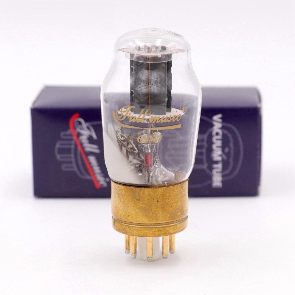 Tianjin Full Music 6SN7 Vacuüm Buis HIFI EXQUIS Vervangen 6N8P/CV181/ECC35 Fabriek Volledige Matched Lamp-in Versterker van Consumentenelektronica op  Groep 1