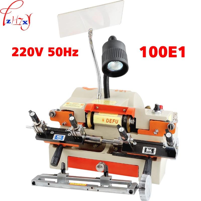 1pc 220v/50hz Multi fuctional chucking 100E1 Key Duplicating Machine tp760 765 hz d7 0 1221a