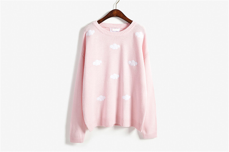 19 Women Sweaters And Pullovers Long sleeve Knitted Women's Sweater Female Winter V Neck Jumper Sueter Mujer Pull Femme 16