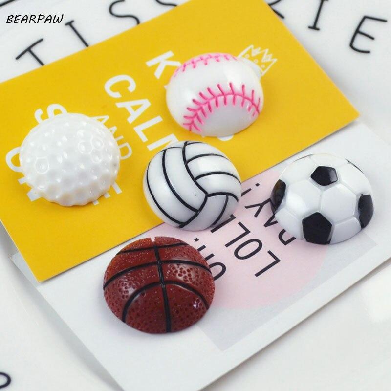 5 шт./компл. Лидер продаж Kawaii Баскетбол Волейбол Футбол Бейсбол Гольф Магниты на холодильник образования детей Игрушечные лошадки сувенирны...