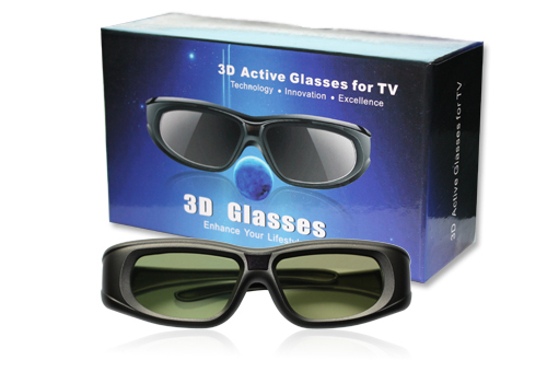 Universal & Bluetooth 3D Glasses Active 3D Glasses rechargeable for 3D HDTV BLU-RAY Players (Sony,Panasonic sharp,sumsung)