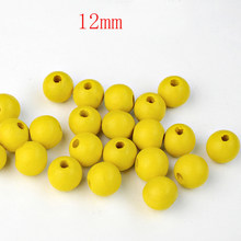 FLTMRH Silver/Gold Wooden Beads Jewelry Findings Making Spacer Beading Wood Beads For Kids Toys & Pacifier Clip(China)