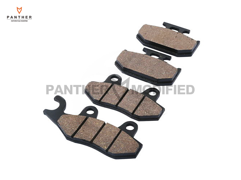 ФОТО 4 PCS Motorcycle Front Rear Brake Pads case for Kawasaki KX 125 250 500 KX125 KX250 KX500 1989 1990 1991 1992 1993 1994