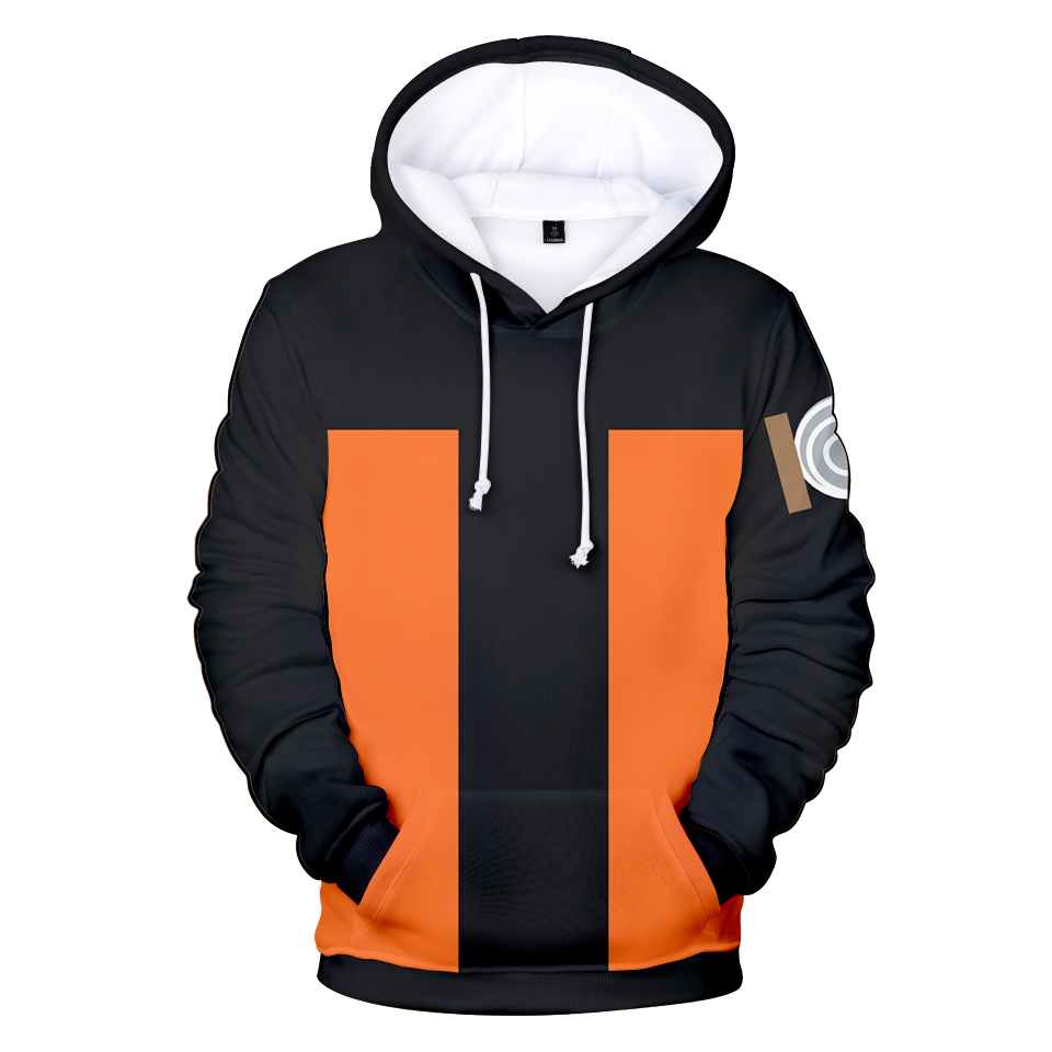 Hot Anime 3D Hoodies Sweatshirts Naruto Harajuku In Men/women Plus Size Anime 3D Hooded  Naruto 3D Hoodies In Kids Casual Coats